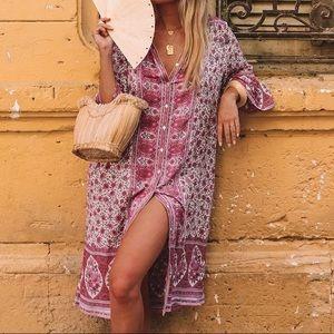 Dresses & Skirts - Jasmine Midi Tunic DRESS Lilac NEW